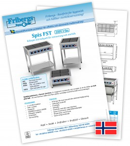 Download Norwegian (230V) product sheet in Swedish in PDF format